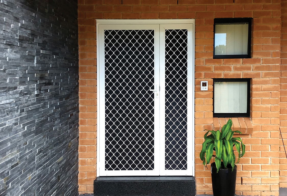 Screens and Doors - Safeguard Beige2 - CR NO & Fly Screens | Sydney Blinds Services Blinds Security Doors